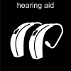 hearing aid Pictogram