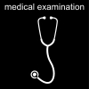 medical examination Pictogram