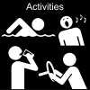 Activities Pictogram