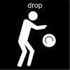 drop Pictogram