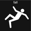 fall Pictogram