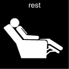 rest Pictogram
