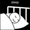 sleep Pictogram