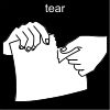 tear Pictogram