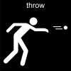 throw Pictogram