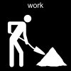 work Pictogram