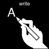 write Pictogram