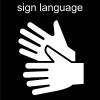 sign language Pictogram