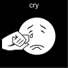 cry Pictogram