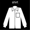 shirt Pictogram