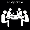 study circle Pictogram