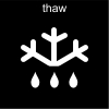thaw Pictogram