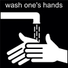 wash one's hands Pictogram
