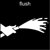 flush Pictogram
