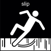 slip Pictogram