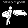 delivery of goods Pictogram