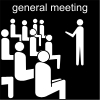 general meeting Pictogram