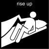 rise up Pictogram