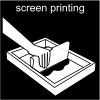 screen printing Pictogram