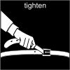 tighten Pictogram
