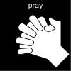 pray Pictogram