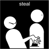 steal Pictogram