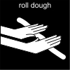 roll dough Pictogram