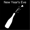 New Year's Eve Pictogram