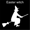 Easter witch Pictogram