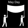May Day Pictogram