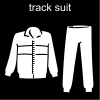 track suit Pictogram