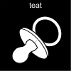 teat Pictogram