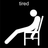 tired Pictogram