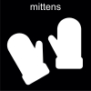 mittens Pictogram