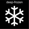 deep-frozen Pictogram