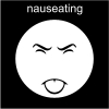nauseating Pictogram
