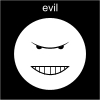 evil Pictogram