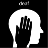 deaf Pictogram