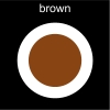 brown Pictogram