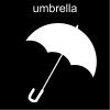 umbrella Pictogram