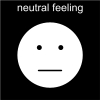 neutral feeling Pictogram