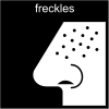 freckles Pictogram