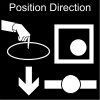Position Direction Pictogram