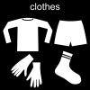 clothes Pictogram