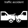 traffic accident Pictogram