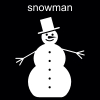 snowman Pictogram