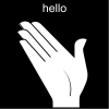 hello Pictogram