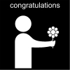 congratulations Pictogram