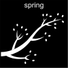 spring Pictogram