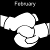 February Pictogram